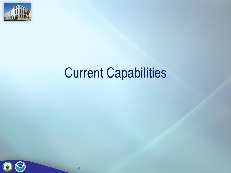 Current Capabilities 21