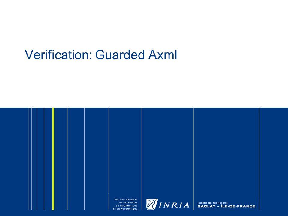 Verification: Guarded Axml