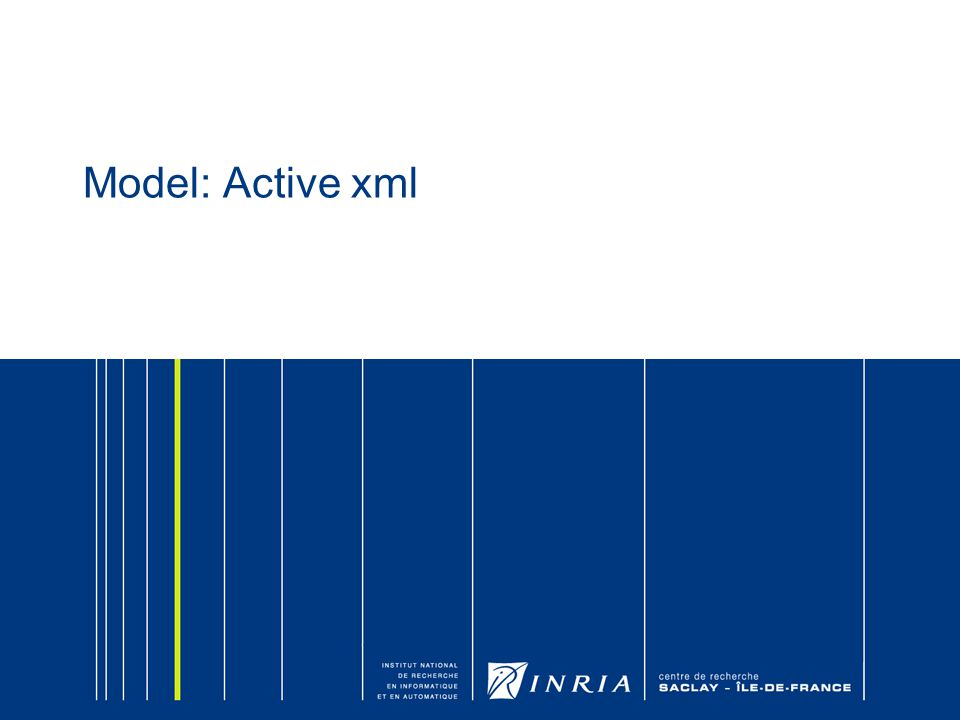 Model: Active xml