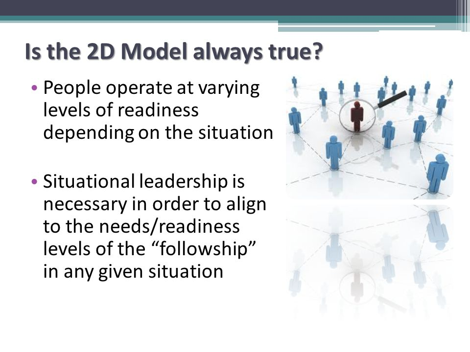 Is the 2D Model always true.