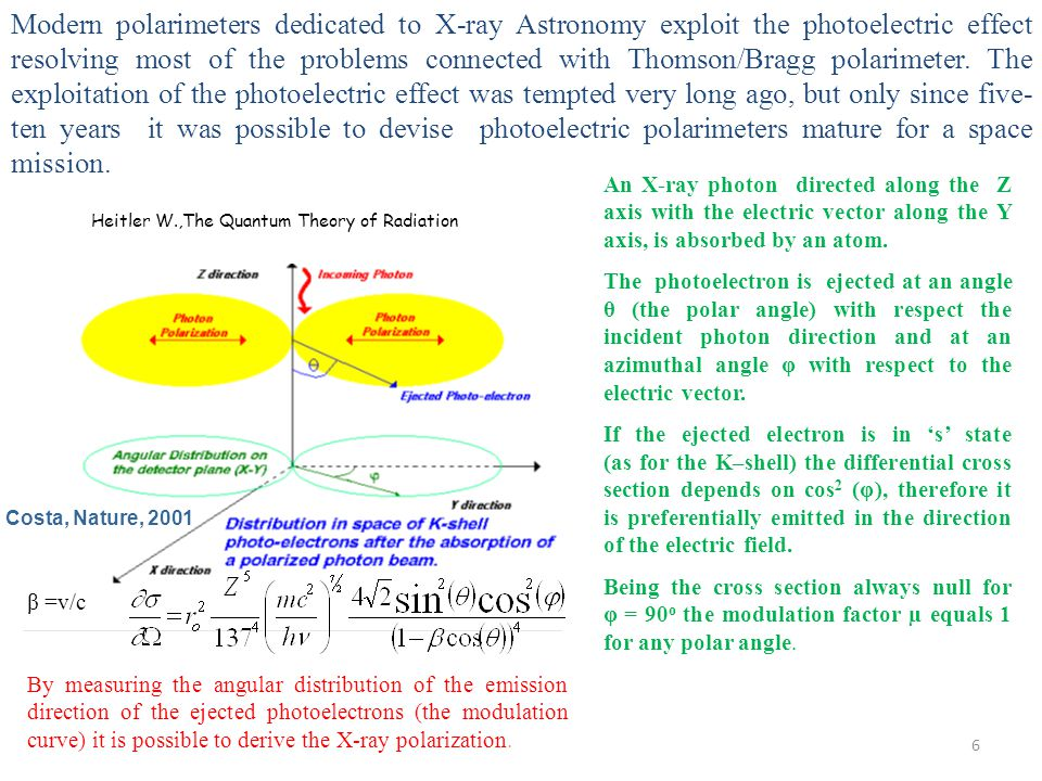 GEM electric field Polarization information is derived from the angular distribution of the emission direction of the tracks produced by the photoelectrons.