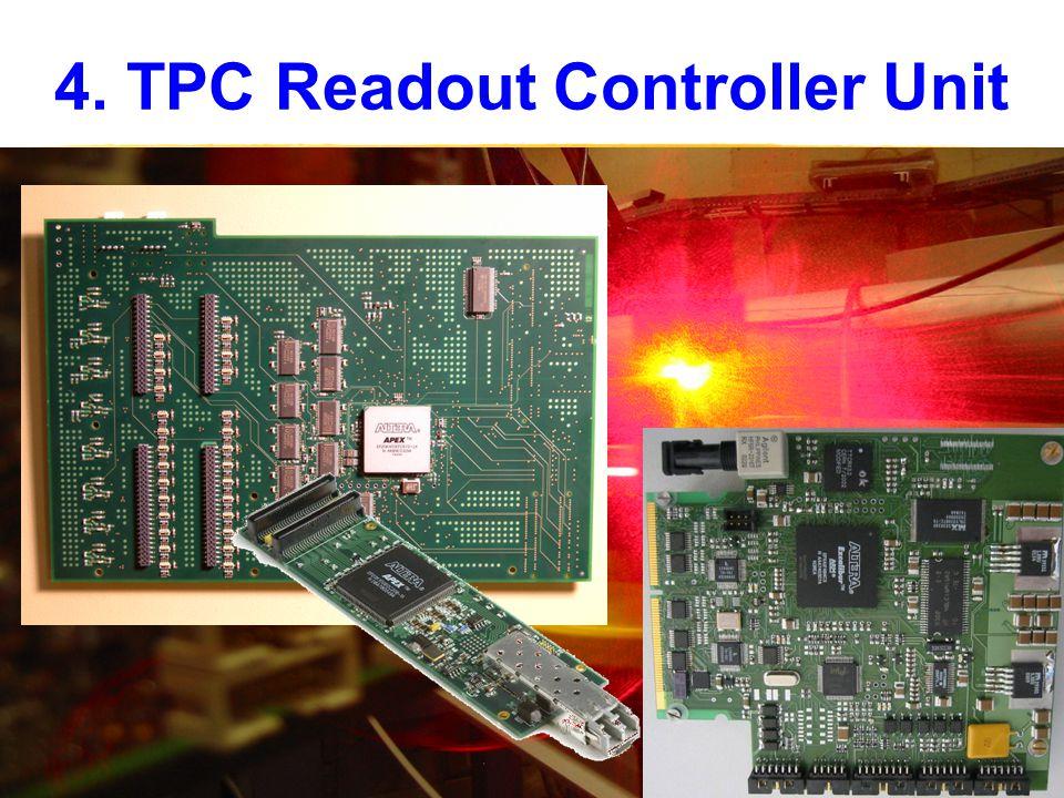 4. TPC Readout Controller Unit