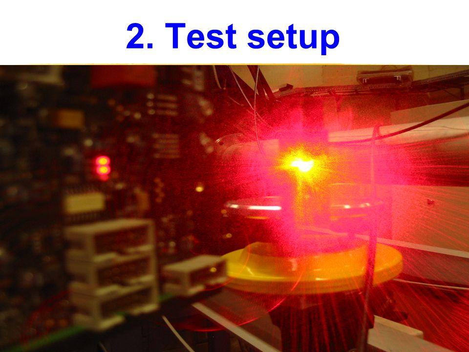 2. Test setup