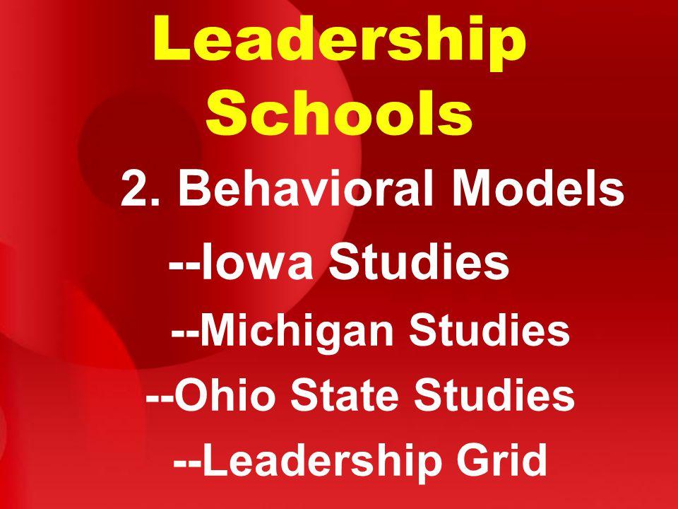 Leadership Schools 2.