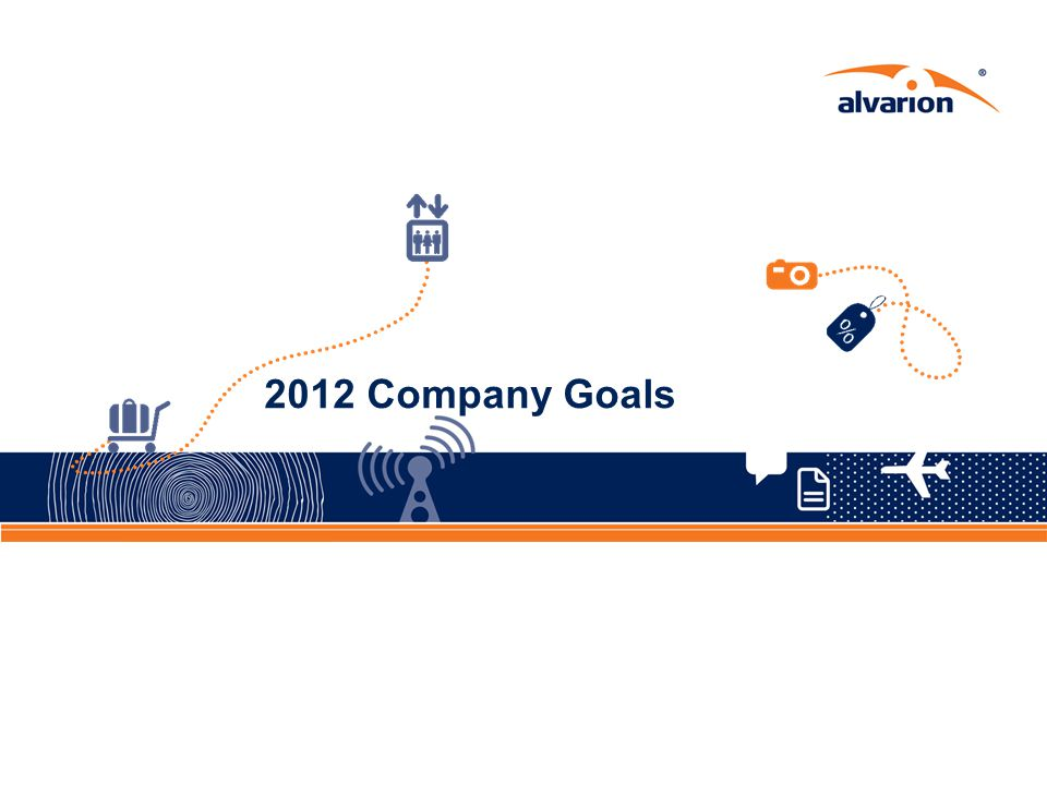 2012 Company Goals