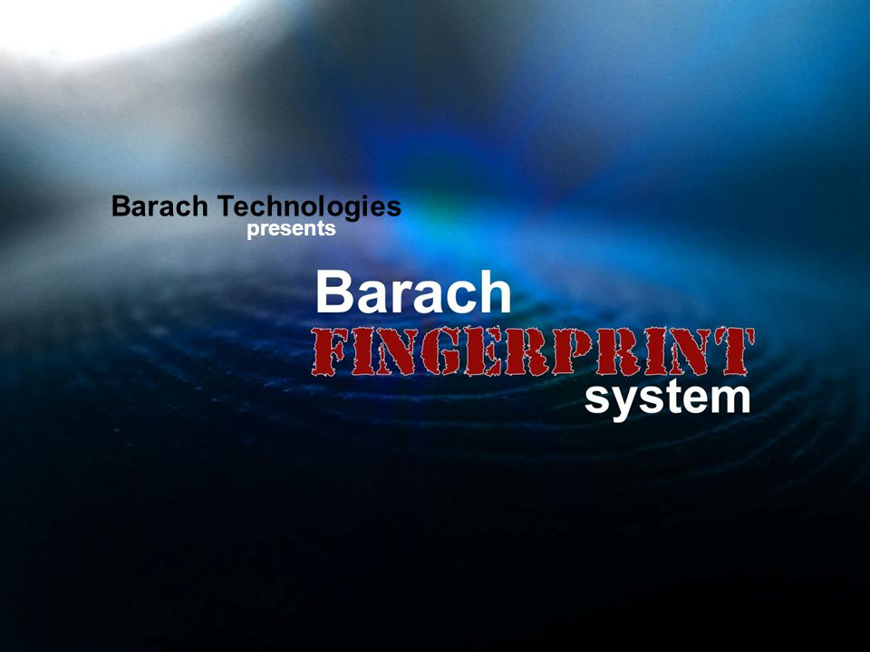 Barach Technologies presents