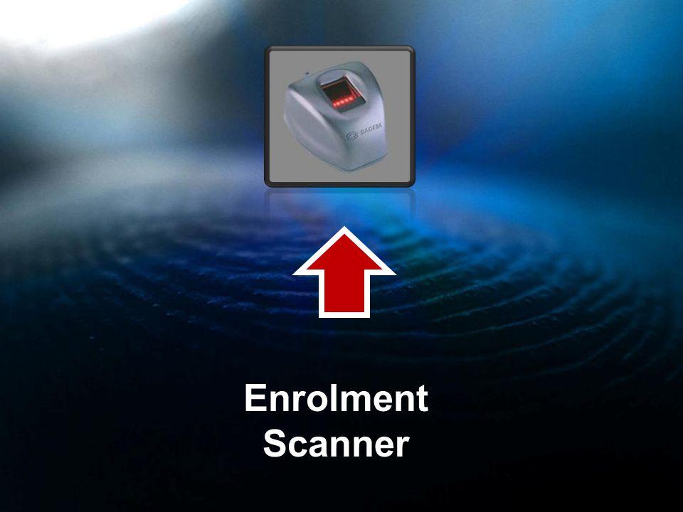 Enrolment Scanner