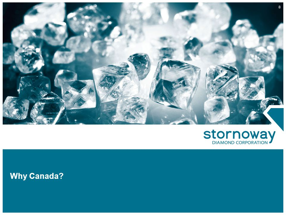 39 Conclusion Stornoway Offers: A new and unique diamond investment opportunity at the right time Strong, experienced management One of Canada's leading technical teams with a track record of discovery Diversified project pipeline including grass roots and development track assets Future cash flow potential A company well positioned for growth