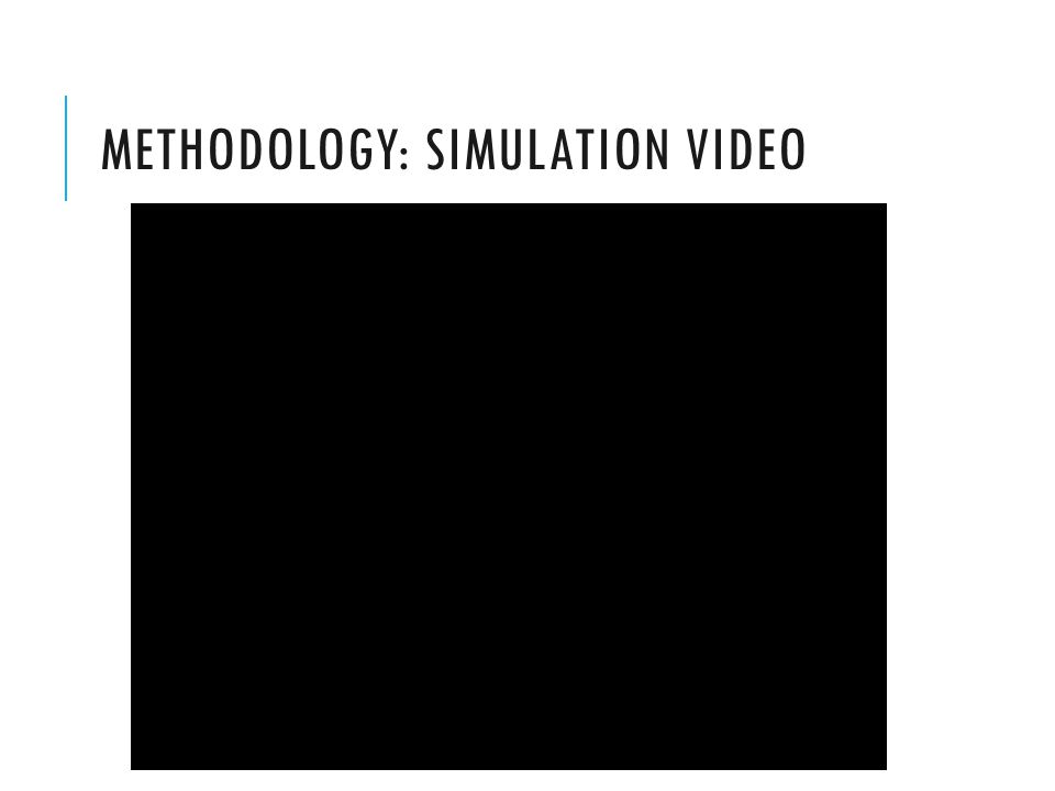 METHODOLOGY: SIMULATION VIDEO