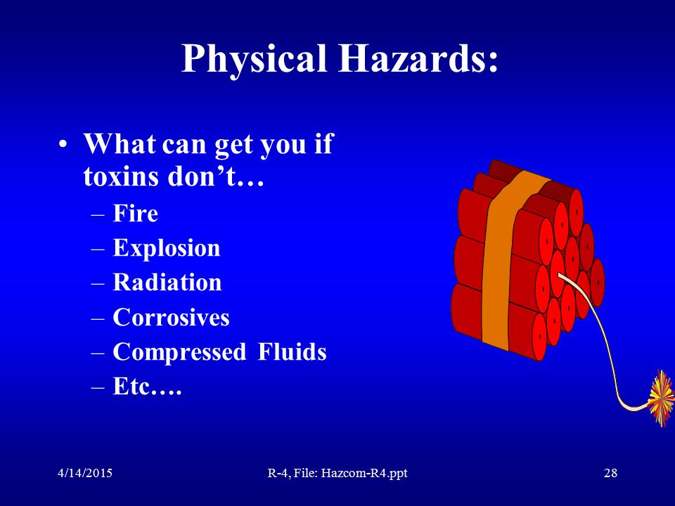 4/14/2015R-4, File: Hazcom-R4.ppt27 Steps to Prevent HOME Poisoning Shower before leaving work.