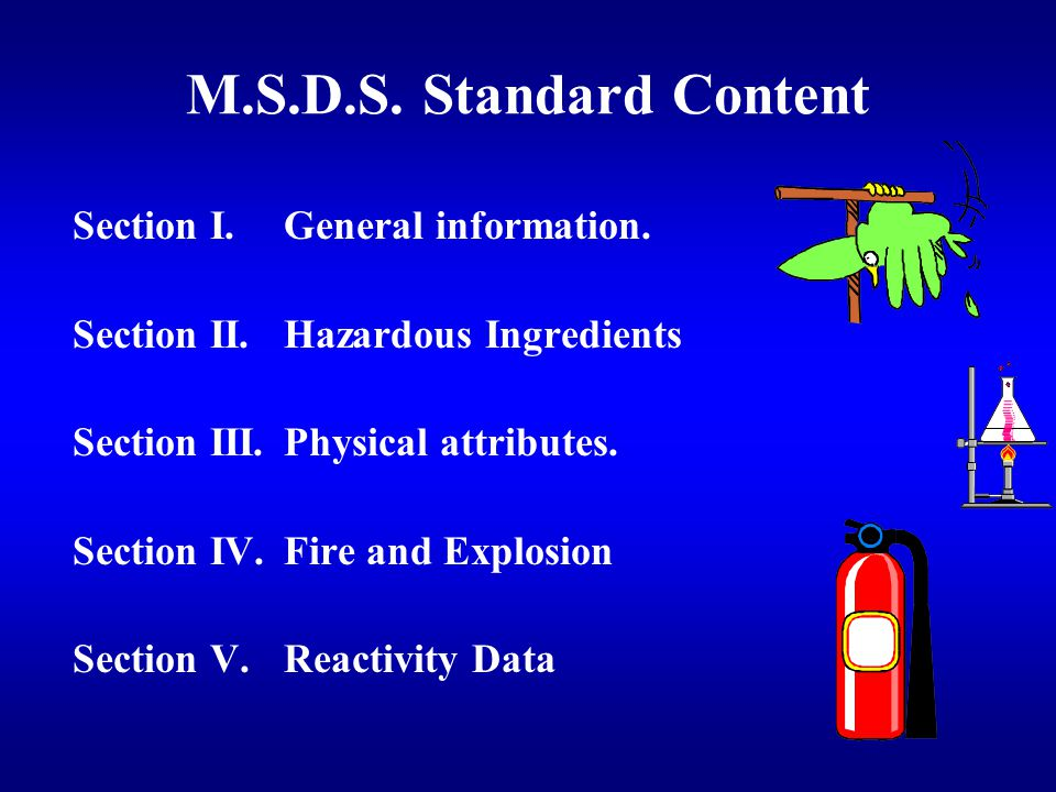4/14/2015R-4, File: Hazcom-R4.ppt8 Who Must Furnish an MSDS Manufacturers Distributors Suppliers
