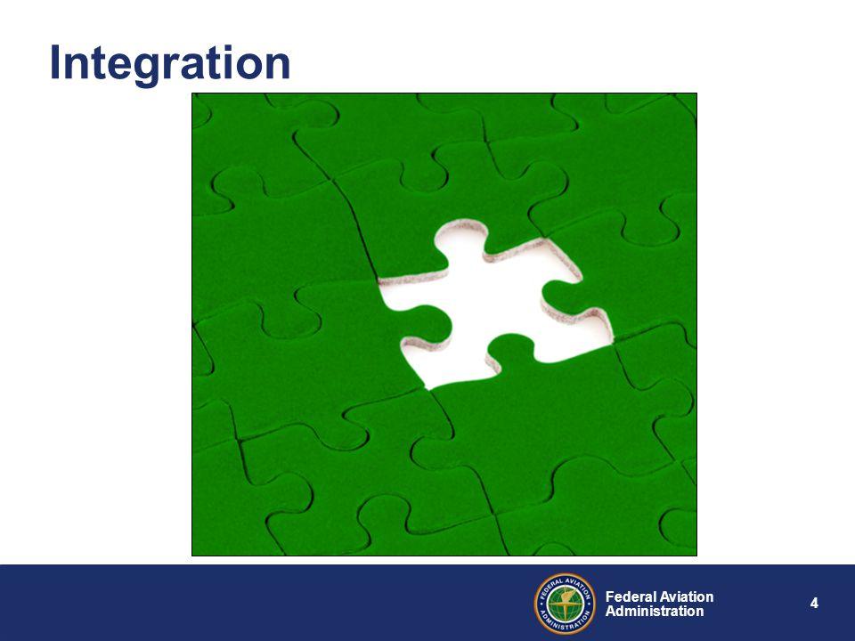 4 Federal Aviation Administration Integration