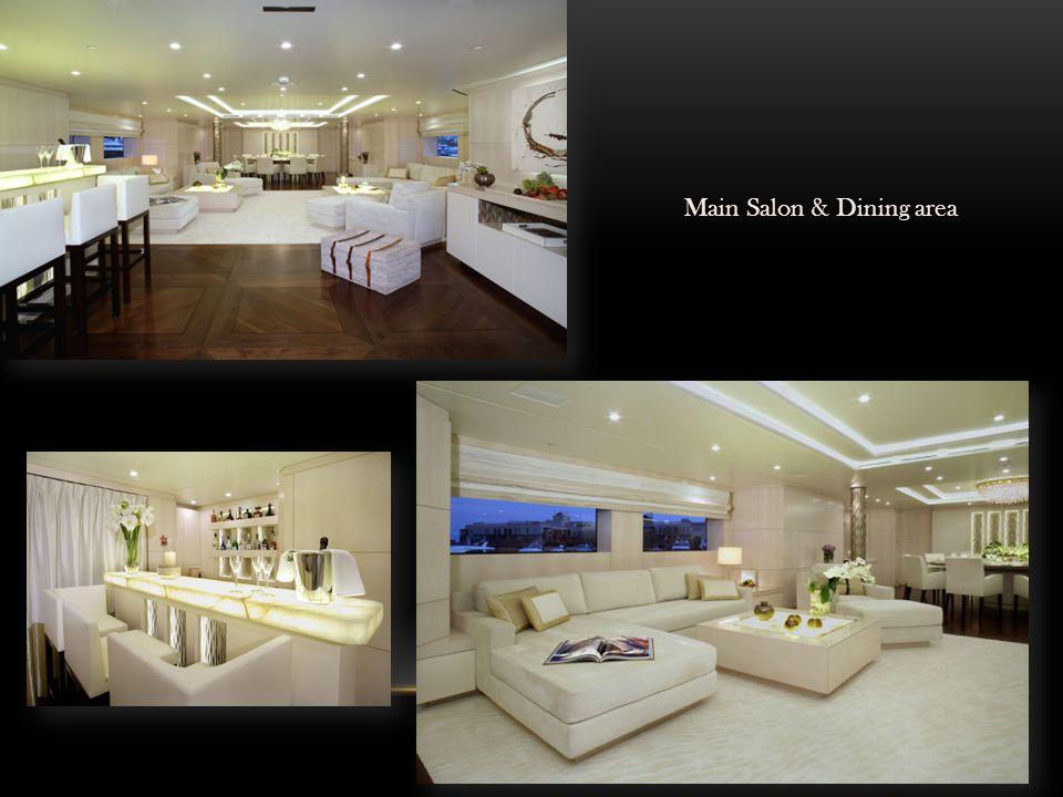 Main Salon & Dining area