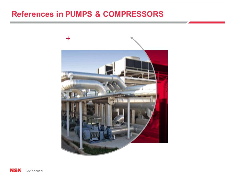Confidential References in PUMPS & COMPRESSORS