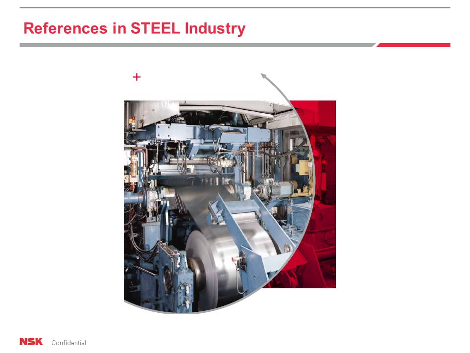 Confidential References in STEEL Industry