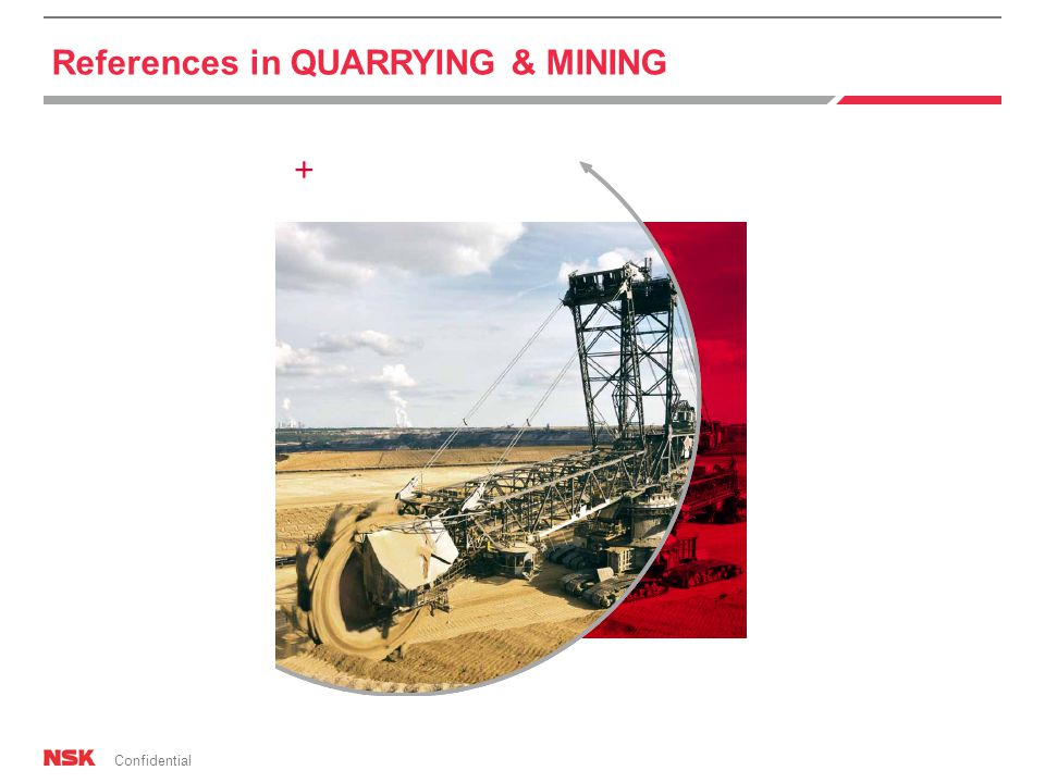 Confidential References in QUARRYING & MINING