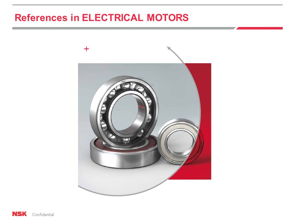 Confidential References in ELECTRICAL MOTORS