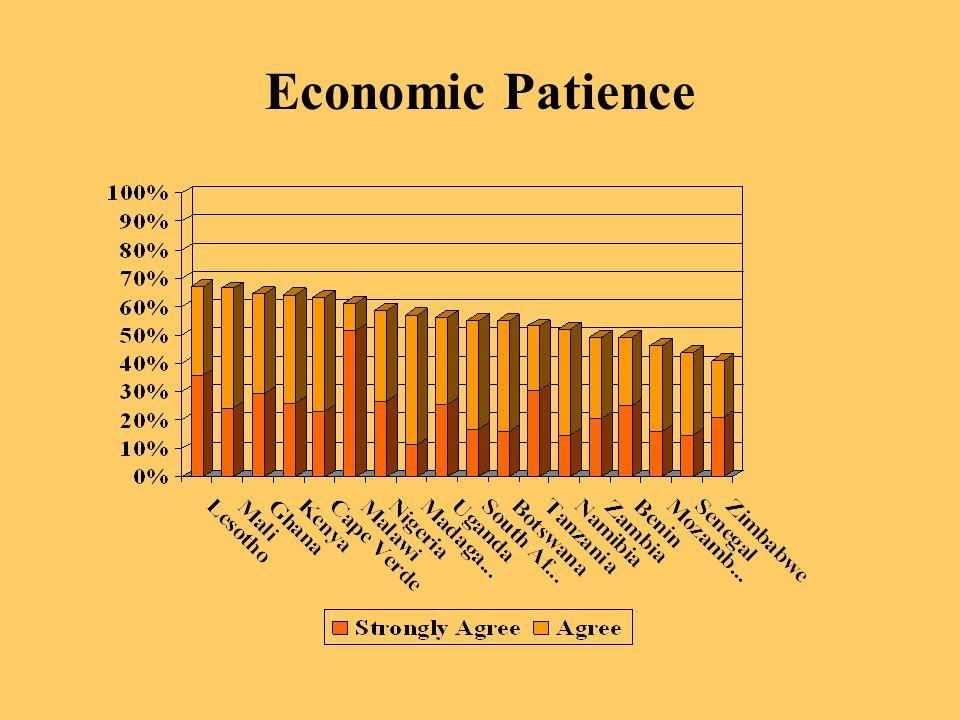 Economic Patience