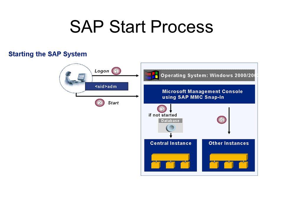 Starting SAP System : Windows Server