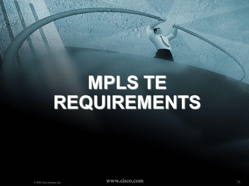 17 MPLS BOOTCAMP ( Mosaddaq Turabi) © 2000, Cisco Systems, Inc.