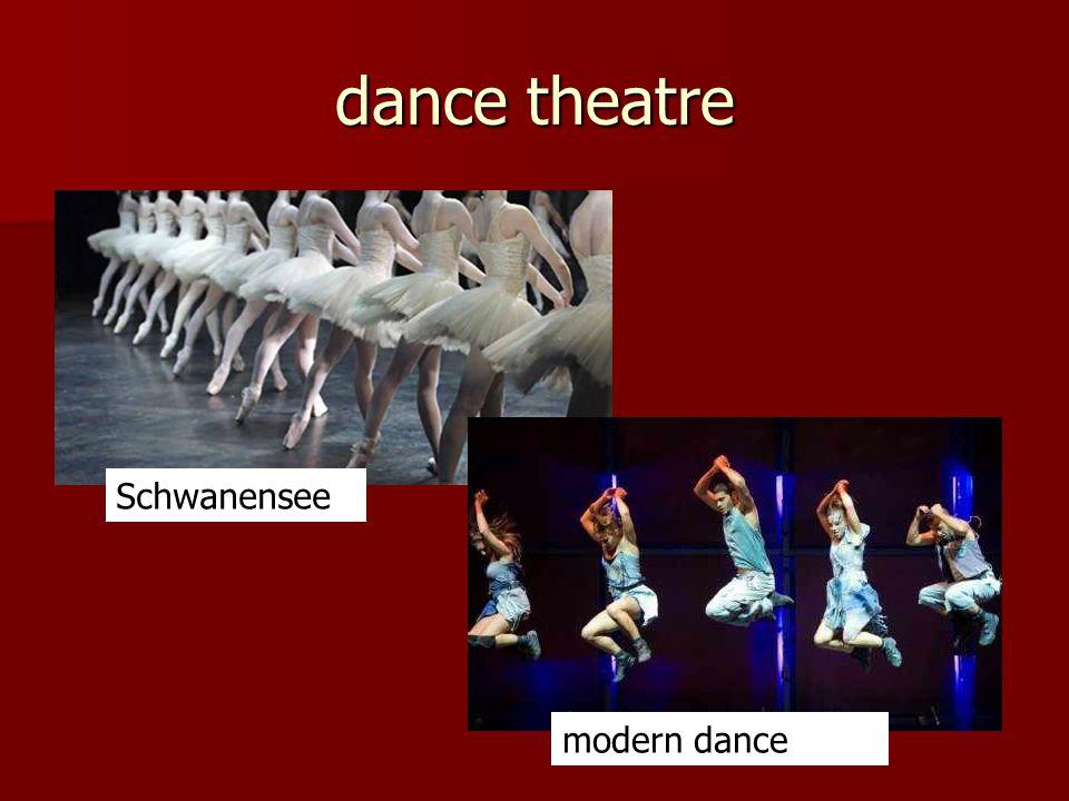 dance theatre Schwanensee modern dance