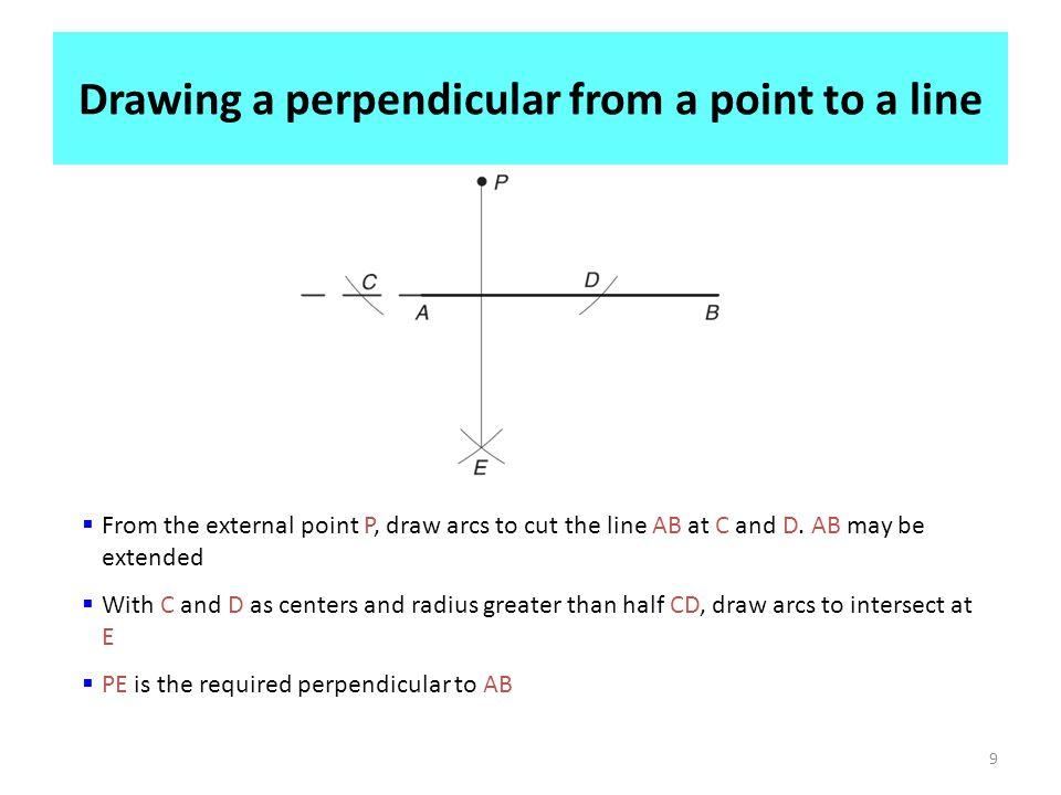 To bisect a given angle AOB.