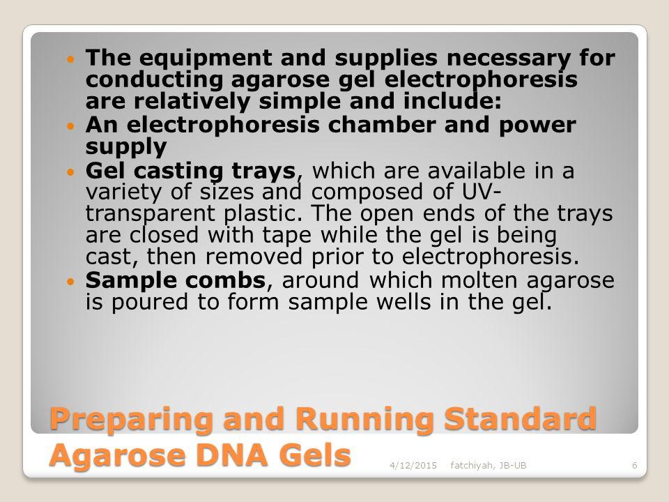 Electrophoresis for nucleic acid Agarose Gel Electrophoresis Purification for Specific Fragment of DNA -DNA Electro-elution -Electrophoresis onto DEAE
