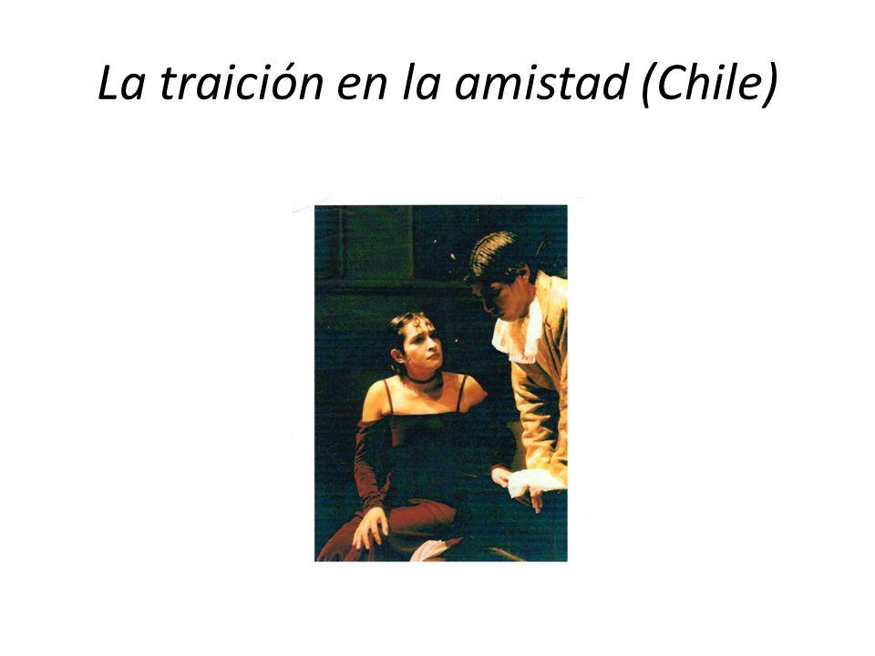La traición en la amistad (Chile)