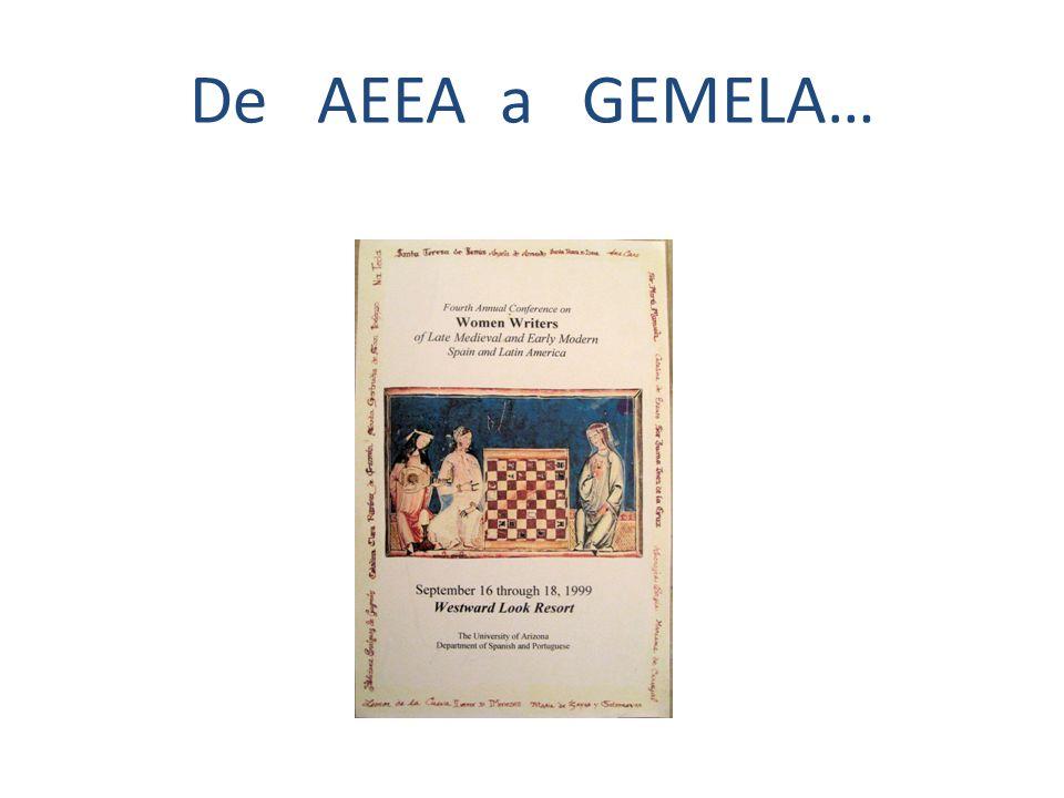 De AEEA a GEMELA…