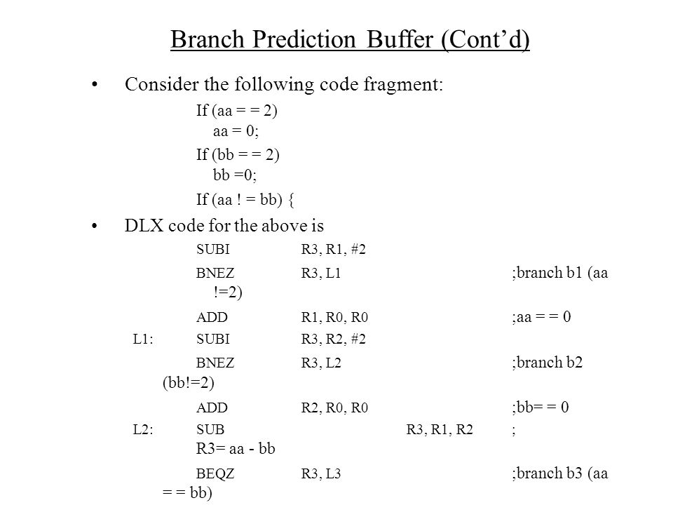 Consider the following code fragment: If (aa = = 2) aa = 0; If (bb = = 2) bb =0; If (aa .