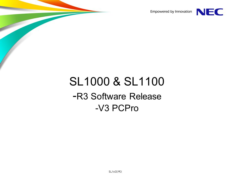 SL1x00 R3 SL1x00 – Masking of SIP Trunk Authentication Details Page 42 As an increased security measure the password of the SIP carrier will be shown as ******* in PCPro / WebPro / TelPro.