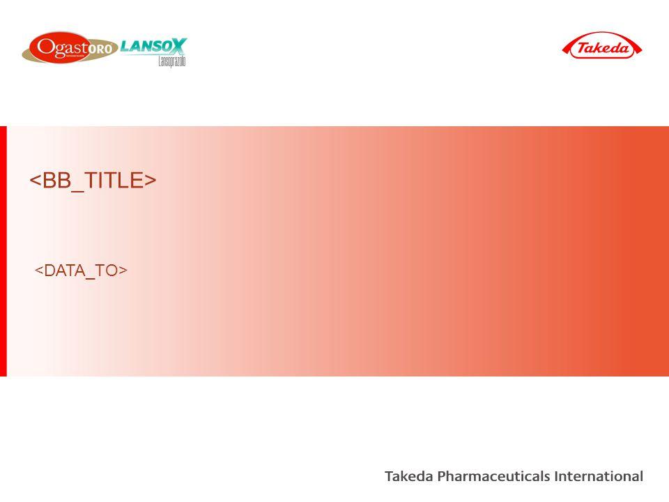 A2B2 Others All remaining A2B2 Lansoprazole Market A2B2 Takeda Market Segment PPI All A2B2 combinations of the following molecules: pantoprazole, esomeprazole, omeprazole, rabeprazole, lansoprazole, dexlansoprazole Lansoprazole Market Definitions