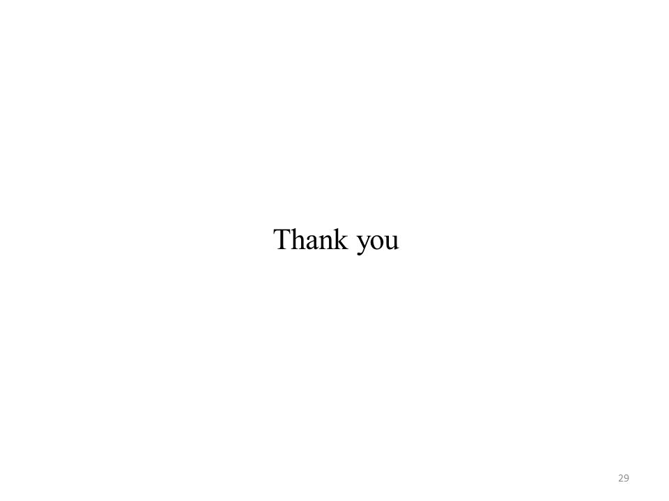 Thank you 29