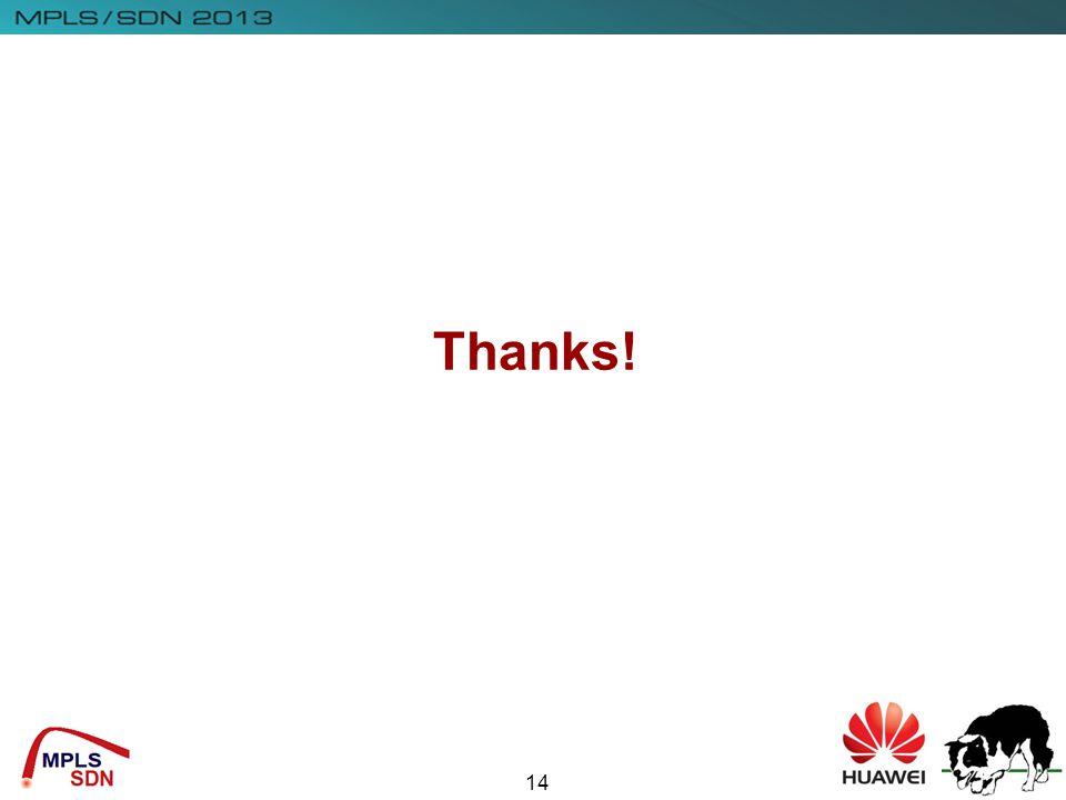 Insert Company Logo Here 14 Thanks!