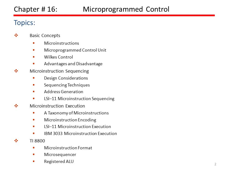  Execute › The effect of the execution of a microinstruction is to generate control signals.