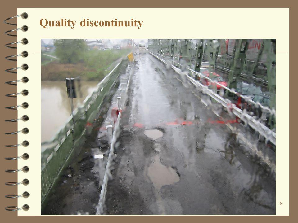 8 Quality discontinuity