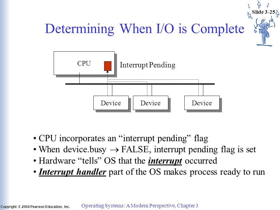 Slide 3-25 Copyright © 2004 Pearson Education, Inc.
