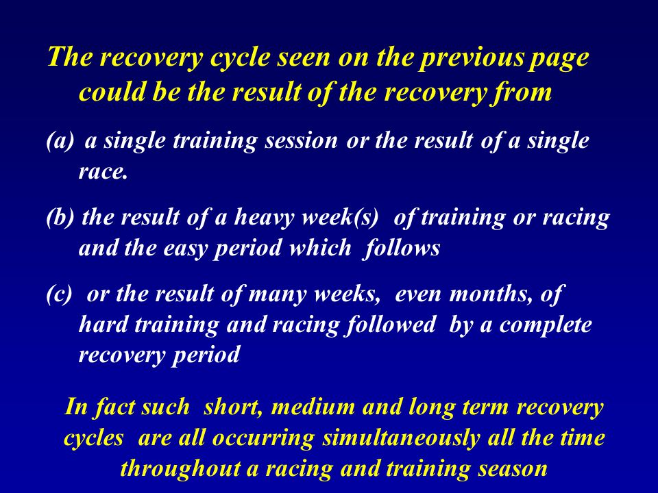 Recovery day 4