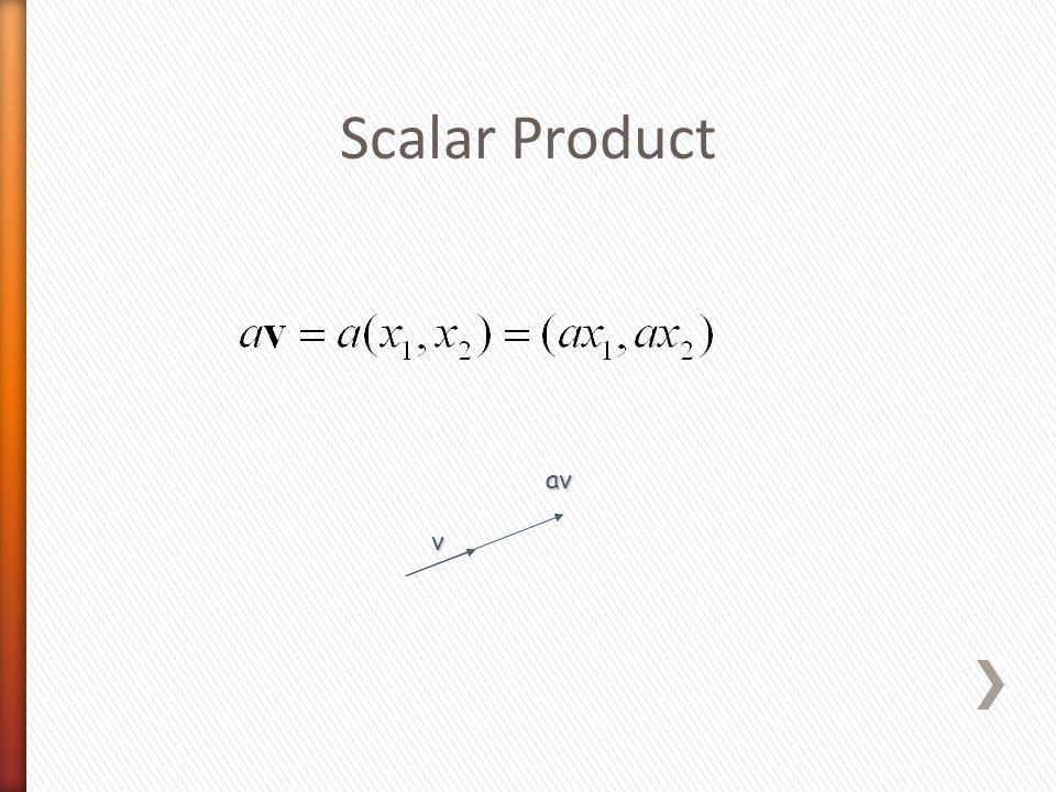 Scalar Product v av