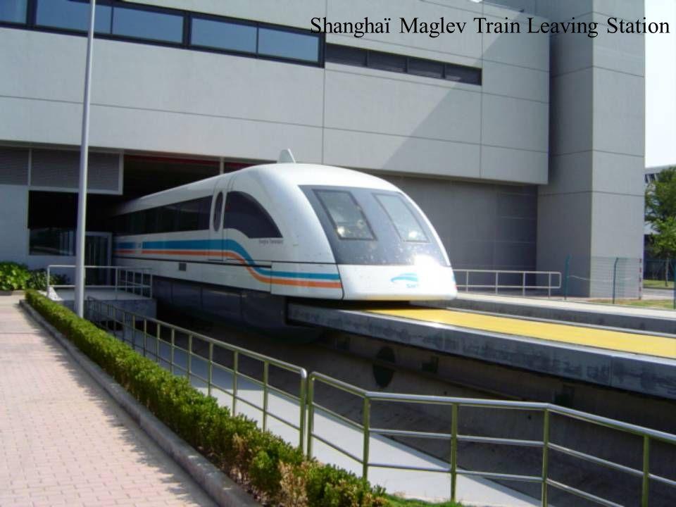 Shanghaï Maglev Train Platform