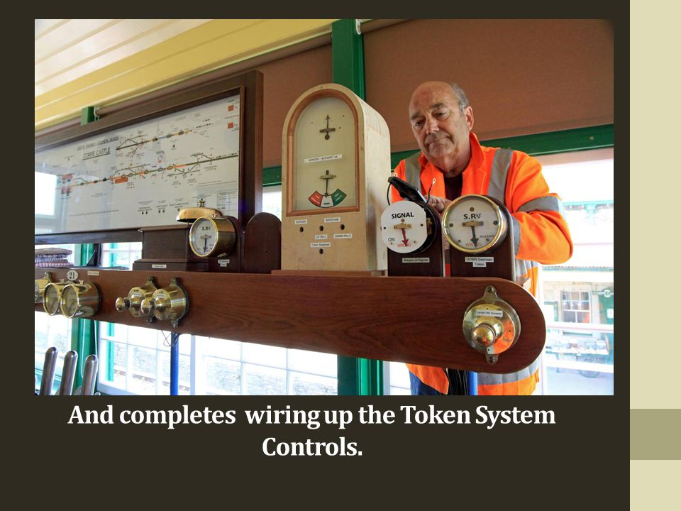 And completes wiring up the Token System Controls.