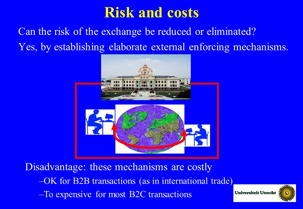 Risk and costs Can the risk of the exchange be reduced or eliminated.