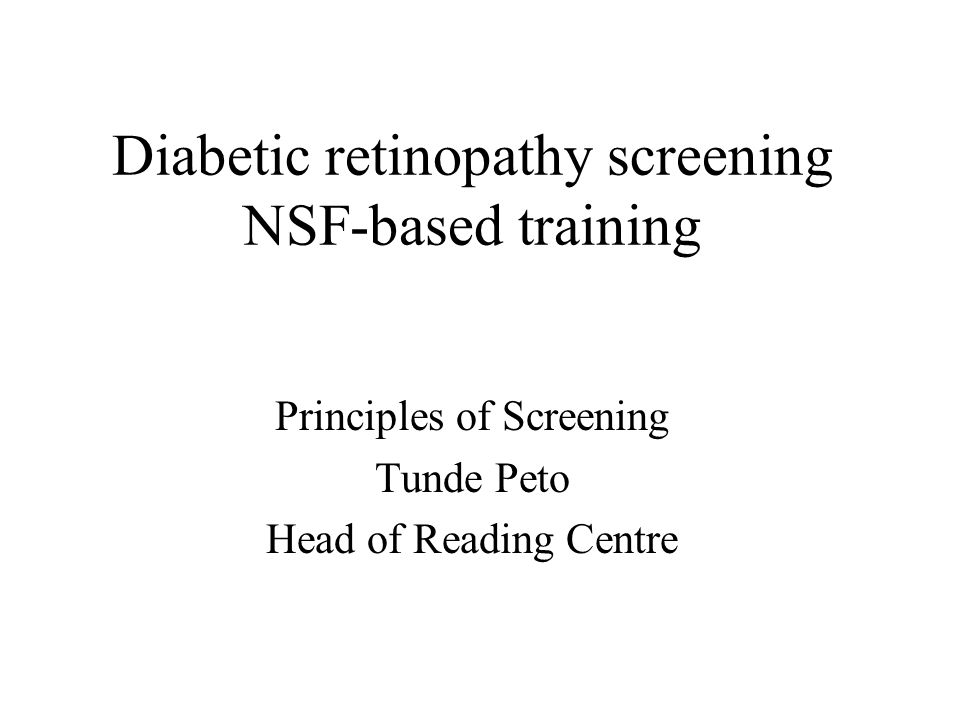 14: To minimise the anxiety associated with screening Criteria: Monitor false positive rate of DR test: M: 25%; A: 20% Data held by: These data are to be generated from the Quality Control grading and clinic notes Relevance: To have a procedure on retraining for staff and re-notifying these patients; ensure best use of resources