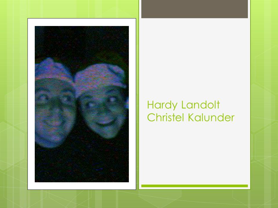 Hardy Landolt Christel Kalunder