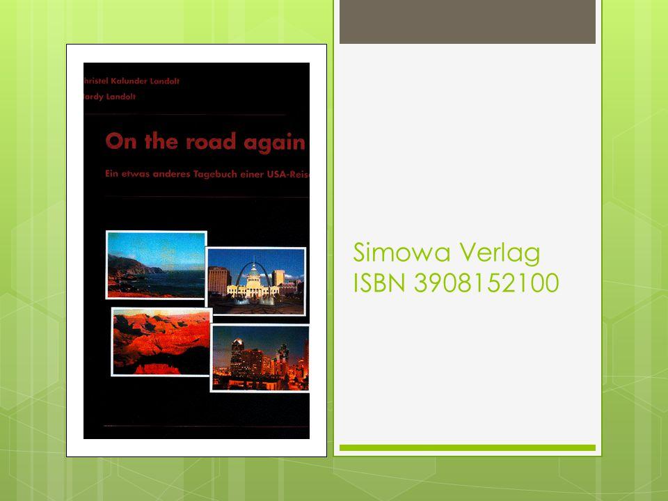 Simowa Verlag ISBN 3908152100