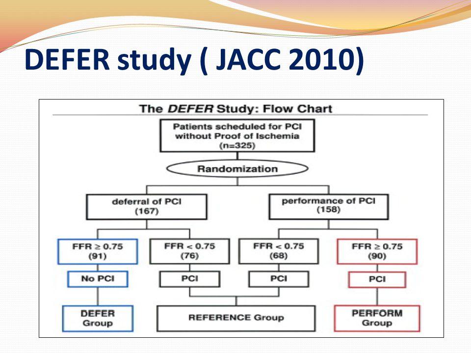 DEFER study ( JACC 2010)