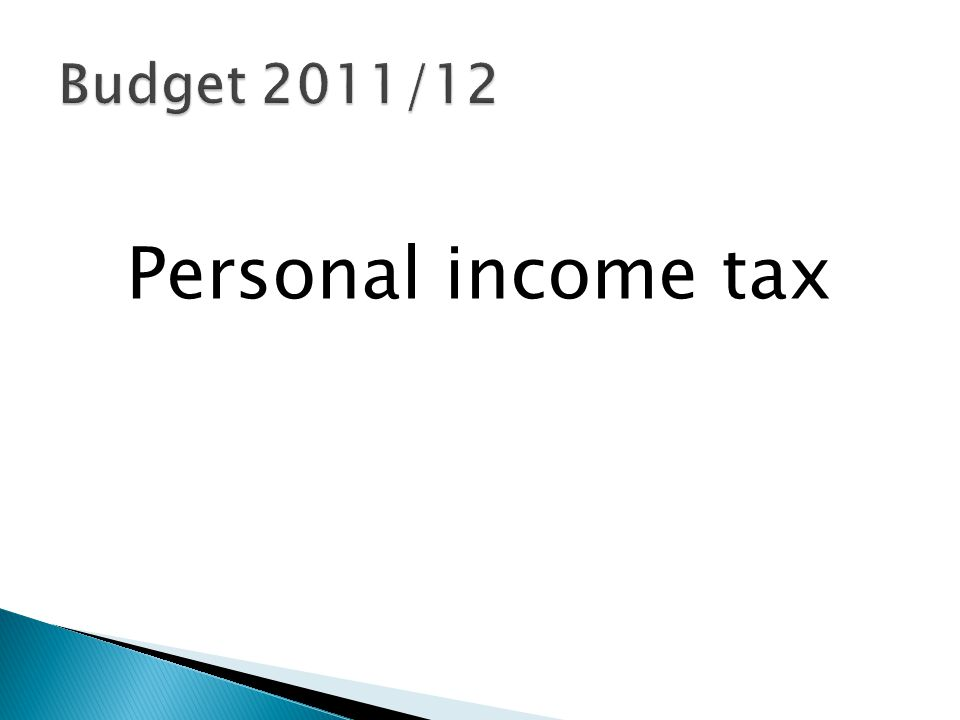  Personal tax relief:  50% to taxpayers with an income < R270 000 p.a.