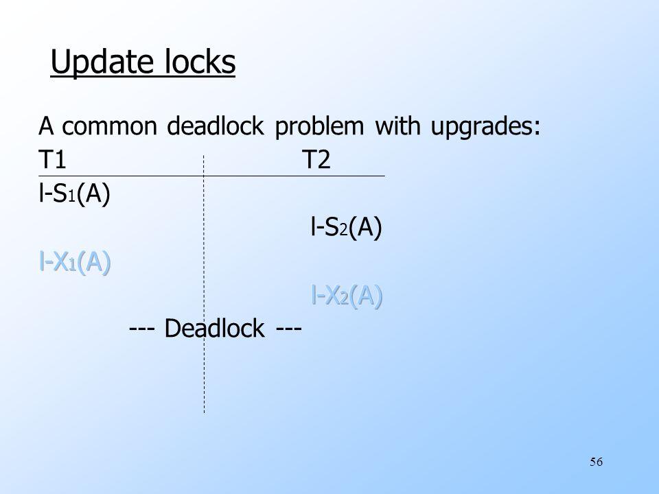 56 Update locks