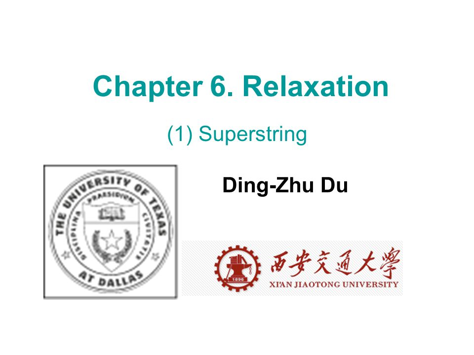 What's relaxation? Min f(x) x* xAxA f(x*) < opt = min f(x) < f(x A ) x in Ω