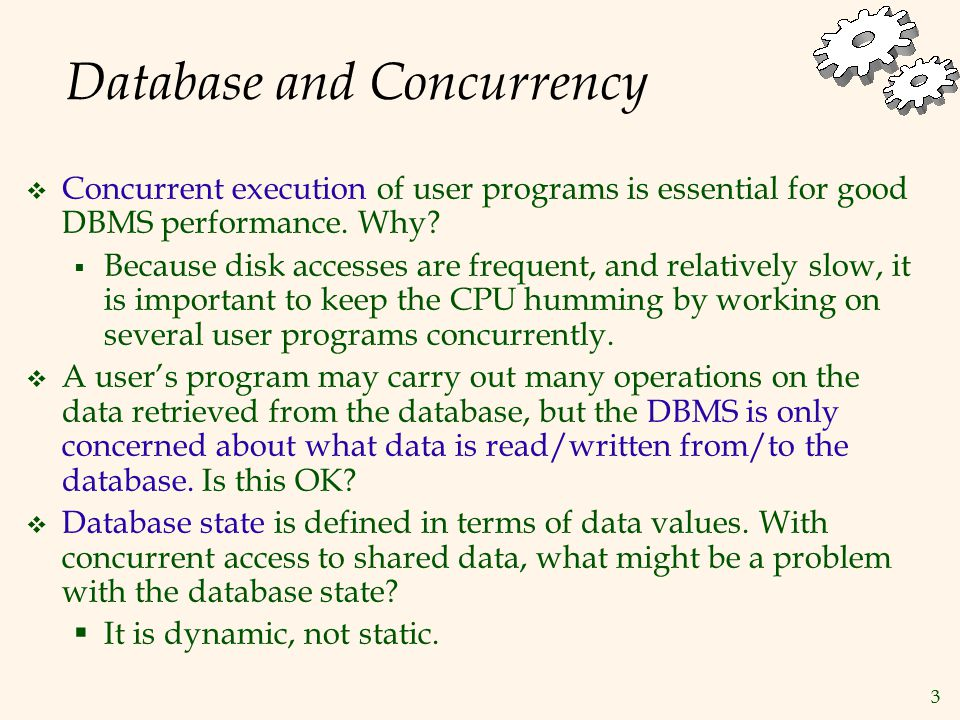 24 Properties of Schedules  Recoverability  Cascaded abort is sometimes necessary w1(x)r2(x)w2(x)A1  Avoiding cascaded aborts  Achieved if every transaction reads only the values written by committed transactions  Must delay each r(x) until all transactions that issued w(x) is either committed or aborted w1(x) …..